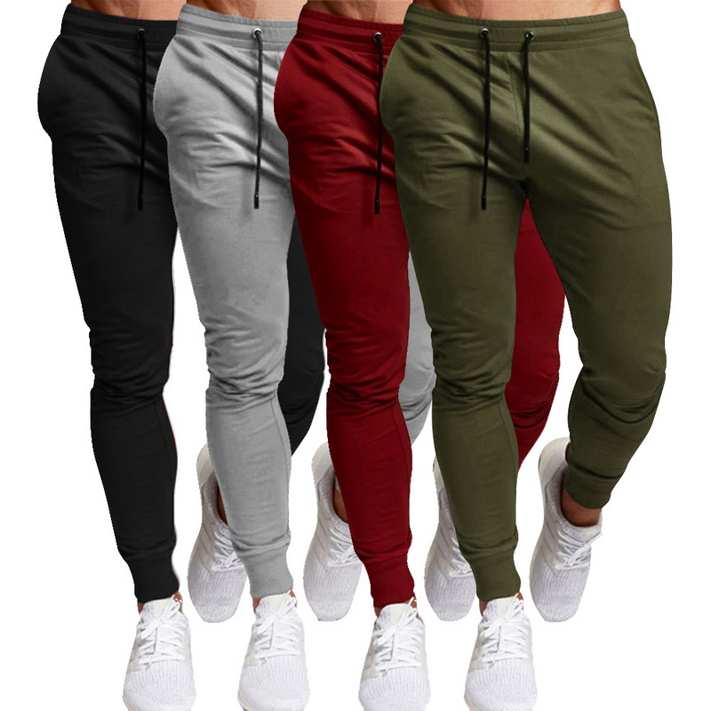 Trousers Clothing Sweatpants Jogger Bodybuilding-Pants Winter Sporting Mens Gyms New title=