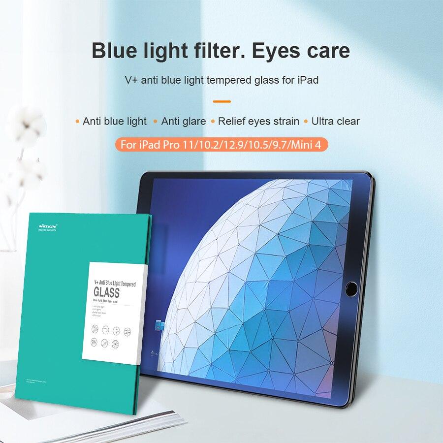 Protetor de Tela para Ipad Protetor para Ipad Cuidado dos Olhos Filtro de Luz para Ipad 9.7 Mini 12.9 10.2 ar Anti Brilho Azul – 4 Pro 11 Mod. 1297511