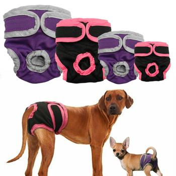 Female Dog Shorts Puppy Physiological Pants Diaper Pet Underwear for Small Meidium Girl Dogs image