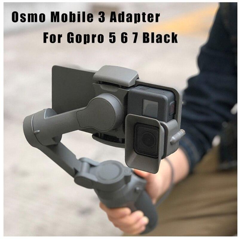 Camera Handheld Adapter Mount Holder For DJI OSMO Mobile 3 Transfer For GoPro 5/6/7 Camera
