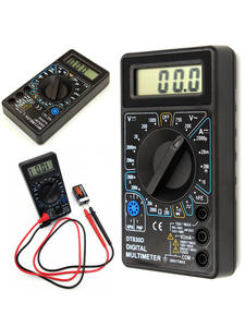 WHDZ Digital-Multimeter Buzzer Probe Ohm-Tester DT-830D Mini Safety-Voltage with Overload-Protection