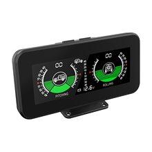 MR CARTOOL M50 GPS Smart Neigungs Digitale Dispaly Auto Tilt Pitch Winkel Winkelmesser Multifunktions HUD Intelligente Hang Meter