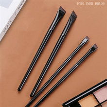 2021 New Arrival Angled Eyebrow Brush Eyeliner Professional Makeup Tool For Cosmetics Beauty