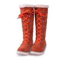 Г. Зимние высокие женские зимние сапоги теплая плюшевая обувь, большие размеры 36-43, легкая одежда белая обувь на молнии для девочек женские популярные ботинки Yasilaiya