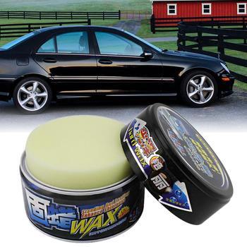 300g wosk samochodowy pasty do polerowania zarysowania wosk samochodowy farby środek do naprawy szkła pielęgnacja samochodów farby wosk wodoodporna motoryzacja wosk tanie i dobre opinie Goxfaca car wax paint polishing Support