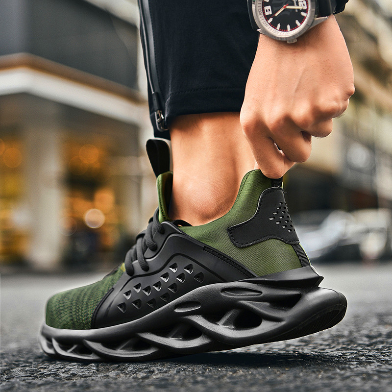 Lightweight Comfortable Breathable Couple Walking Sneakers Tenis Feminino Zapatos Stylish Men's Casual Shoes Laces Men's Shoes