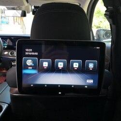 4 ГБ ОЗУ + 64 Гб ПЗУ монитор на подголовник для Mercede A B C E S ML GL CLS GLA GLC GLE GLK дисплей Wifi Android 9,0 видеоплеер автомобильный телевизор