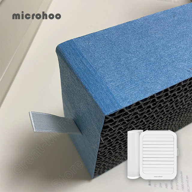 Original Microhoo Capacity Mini USB Portable Air Conditioner Filter Cool and Humidify Touch Screen Air Conditioner Filter 3