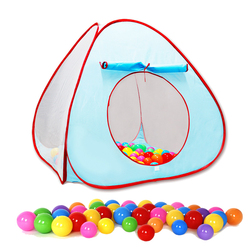 Baby Game Tent Marine Ball Fence Play House Kids Game Mosquito Nets Ball Pits Tunnel Tent For Children Portable Indoor Outdoor