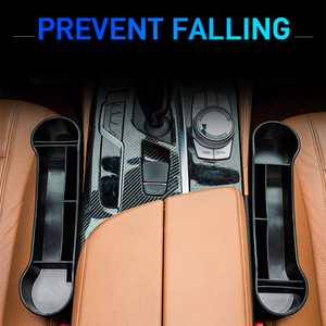 Image 5 - Universal assento de carro gap caixa de armazenamento esquerda/direita passageiro motorista lado para bolso organizador telefone suportes do carro interior acessórios