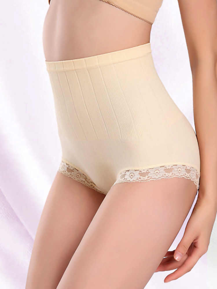 Утягивающие трусики для женщин, Корректирующее белье с высокой талией, Утягивающее нижнее белье для живота