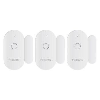 Fuers Tuya Smart WiFi Door Sensor Door Open / Closed Detectors Magnetic switch Window sensor home security Alert security alarm 9
