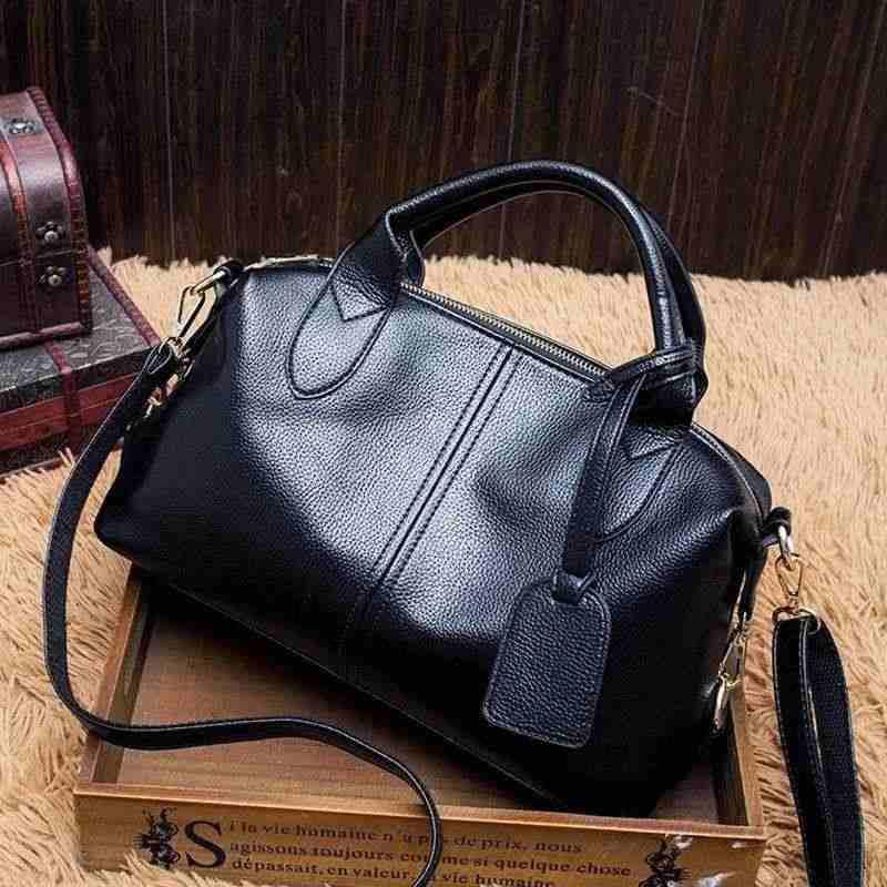 Marque de luxe femme sac 2019 vache sacs à main en cuir véritable sacs pour femmes Messenger femme épaule décontracté dames sac en cuir X63