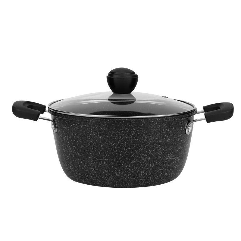 Soup Pot Steamer Maifanshi Milk Pot Baby Food Supplement Pot Cooker Induction Cooker Gas Stove Use Kitchen Pot Cookware Cast