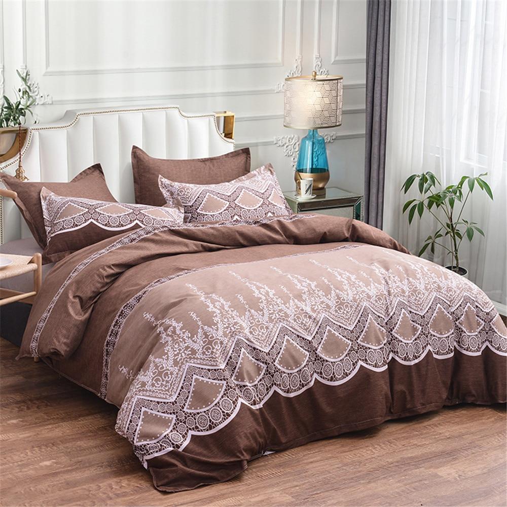 Comforter Bedding Sets King Duvet Cover King Size For Adults High Quality Flower Bed Set Ropa De Cama