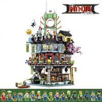 Maîtres de blocs de construction Spinjitzu briques modèle modulaire Compatible legoingLYs 70620 éducatifs enfants anniversaire noël jouets