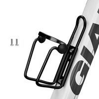 MTB Bicycle Water Bottle Holder Aluminum Alloy Mountain Bike Bottle Can Cage Bracket Cycling Drink Water Cup Rack Accessories 1