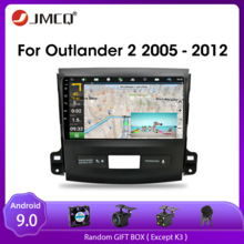 Jmcq Android 9.0 Voor Mitsubishi Outlander Xl 2 CW0W 2005-2012 Auto Radio Multimedia Video Speler 2 Din Gps stereos Split Screen
