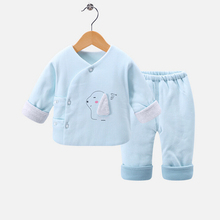 2019 Fashion Autumn And Winter New Baby Clothes Newborn Underwear Set Cotton Clothing Cute Warm Suit For Boys Girls