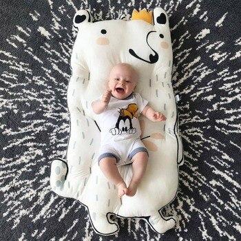 Colchón nórdico INS para bebé, Alfombra gruesa para otoño e invierno, Alfombra...
