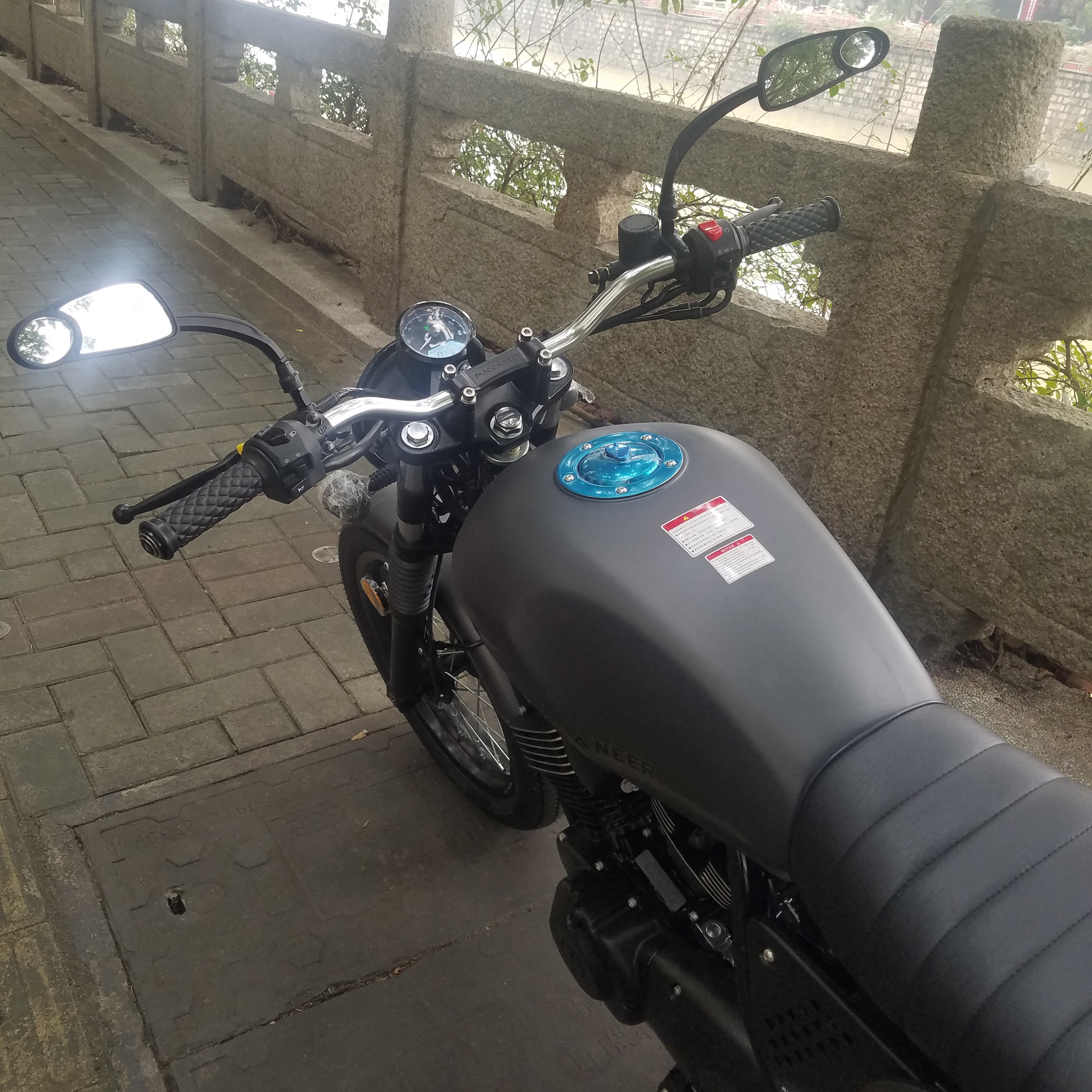 universal para motocicleta guiador renthal 22 01