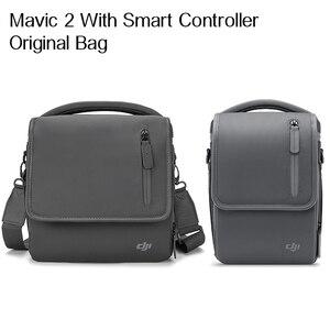 Image 1 - DJI Mavic 2 الأصلي حقيبة Mavic 2 برو/التكبير حقيبة كتف يحمل كل شيء أكثر عدة مصممة خصيصا ل DJI