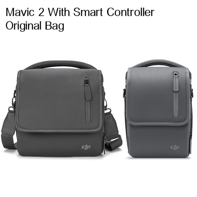 DJI Mavic 2 orijinal çanta Mavic 2 Pro/Zoom omuzdan askili çanta taşır her şey daha fazla kiti için özel olarak tasarlanmış DJI