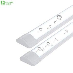 Image 1 - 10 יח\חבילה 5 PCS צינור LED ניקוי טיהור אור 10W 20W 40W LED tri הוכחת באטן אור LED צינור ליניארי מנורת AC85 265V