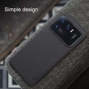 Image 5 - For Xiaomi Mi 11 Mi11 Lite Case NILLKIN Frosted Shield Protection Case For Xiaomi 11 Ultra Mi 11 Pro Anti fingerprint Back Cover