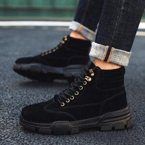 Image 2 - أحذية رياضية رجالية حذاء كاجوال أحذية رياضية رجالية للتدريب Masculino Zapatillas Hombre الأحذية الأدوات أحذية عالية أفضل مارتن الأحذية