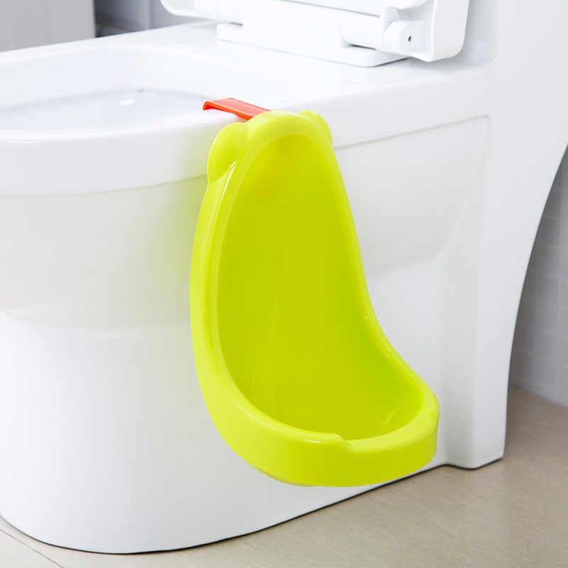 Children's Wall-mounted Urinal Solid Male Baby Items Accessories Stand Type Urine Bucket Hang Closestool Urinal Training Potty