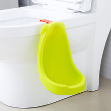 Children's Wall-mounted Urinal Solid Male Baby Items Accessories Stand Type Urine Bucket Hang Closestool Urinal Training Potty(China)