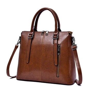 Vintage Trends Women Handbag Shoulder Bag PU Leather Female Satchel Bag Messenger Bags Elegant Shoulder Bags For Women 2018 New