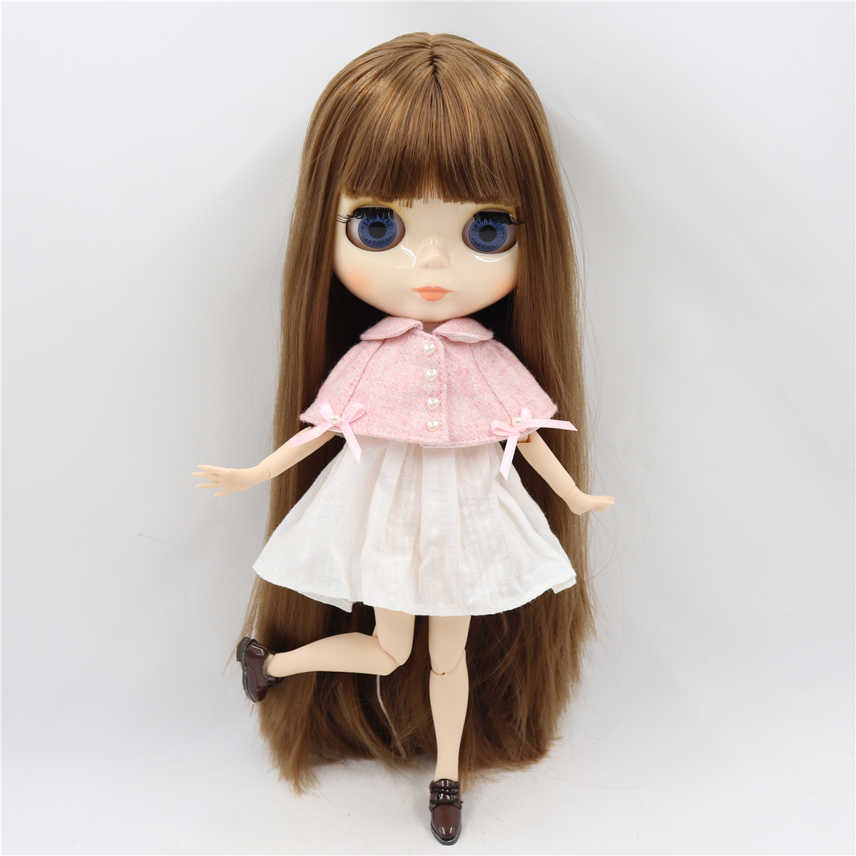 Image 4 - ICY factory blyth doll bjd toy joint body white skin shiny face doll 1/6 30cm girl gift on sale special offerDolls   -
