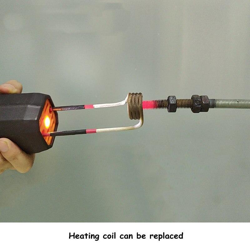 Высокочастотный индукционный нагреватель ручной индукционного нагрева пистолет с низким энергопотреблением Портативный