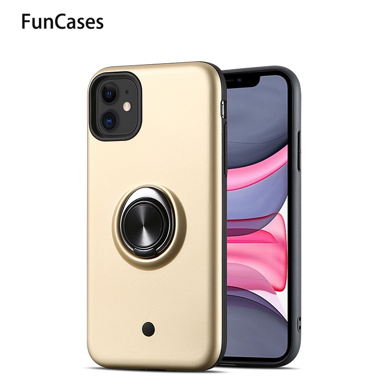 Silicone Casesrs For Huawei Y9 Prime <font><b>2019</b></font> Car Magnetic Ring Soft TPUr Cellular sFor Huawei capinha Y6 Prime <font><b>2019</b></font> Y9 Pro <font><b>Y7</b></font> Y5 image