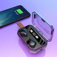 X12 tws bluetooth fone de ouvido sem fio fone de ouvido bluetooth ipx7 à prova dwaterproof água fones sem fio
