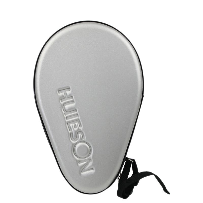 HUIESON Professional PU Table Tennis Hard Case Gourd Table Tennis Racket Bag Table Tennis Accessories