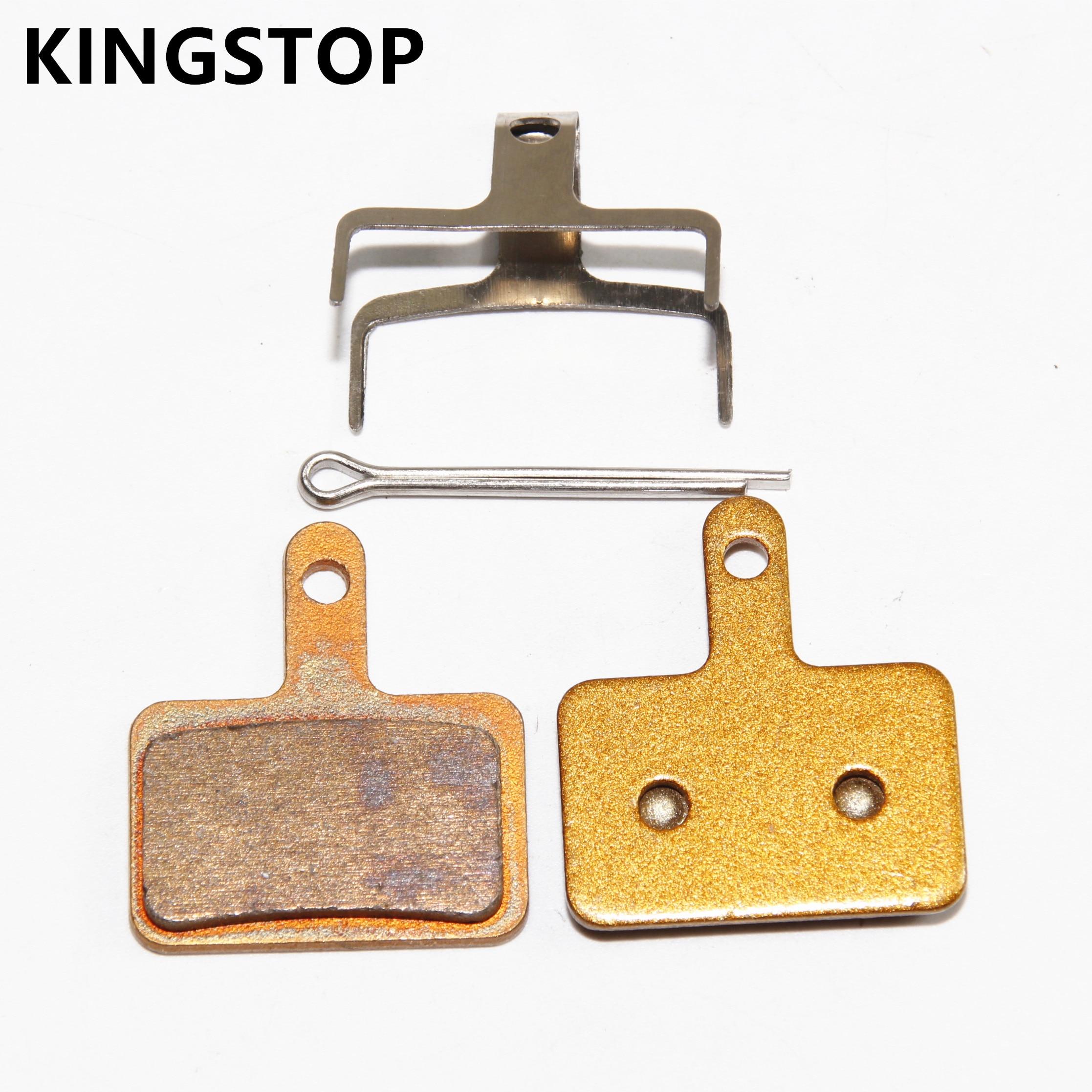 Kingstop 811S bicycle sintered brake pads for Shimano Deore BRM 525 Nexave C500/600 M486 M485 M475 M416 M446 M375
