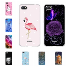 For Xiaomi Redmi 4A 4X Case Slim Soft TPU Silicone 5A Cover Flamingo Patterned 6 6A Shell Bag