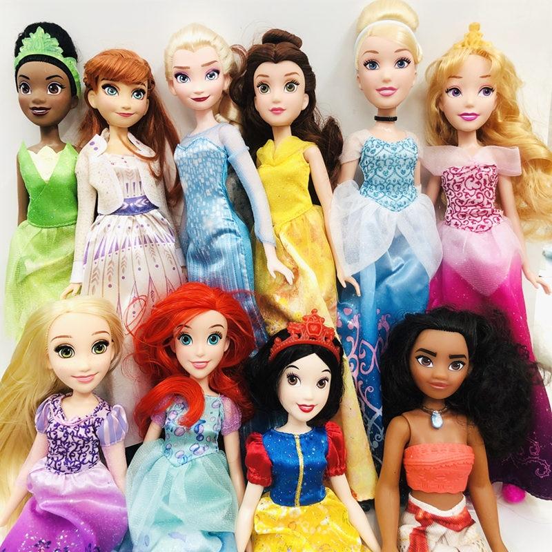 New 28cm Beautiful Mermaid Princess And Prince Movie Doll Quality Goods Genuine Princess Doll Girl Gift Princess Doll Toy