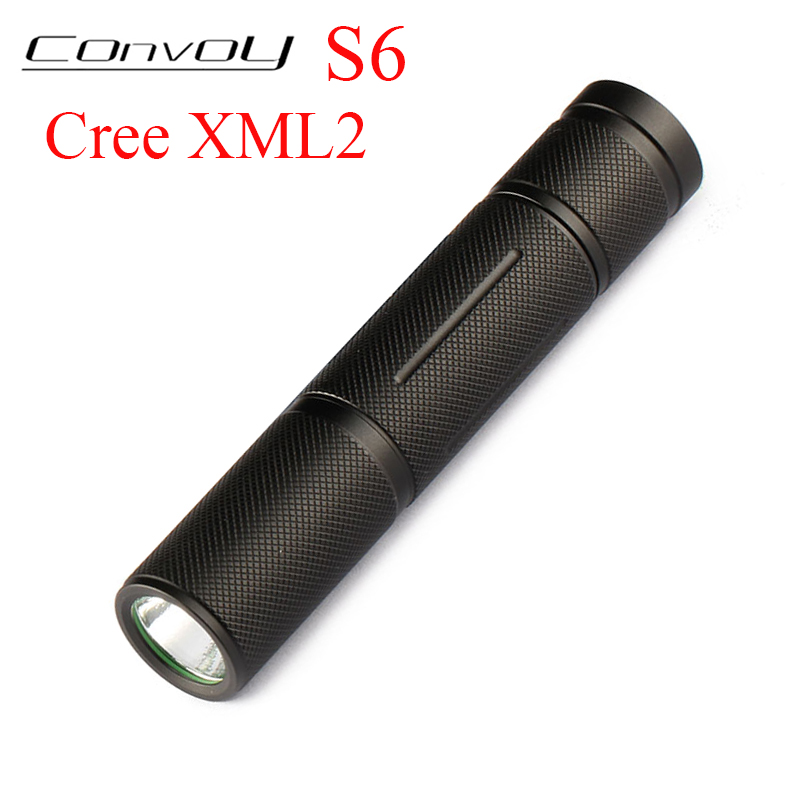 Convoy S6 Cree XML2 T6 U2 LED Flashlight EDC Linterna LED S2+ Plus Lanterna 18650 Flashlight Mini Torch Camping Lamp Work Light