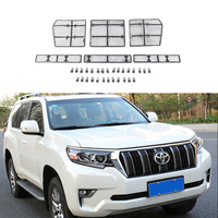 6PCS/set Full Coverage Steel Wire Insect-proof Net for Toyota Land Cruiser Prado 150 2018 Accessories