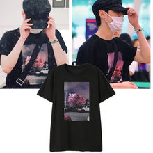 GOT7 Short-sleeved T-shirt Students Korean Version Loose harajuku plus size women shirts Cotton Casual Letter 2019 NEW summer(China)