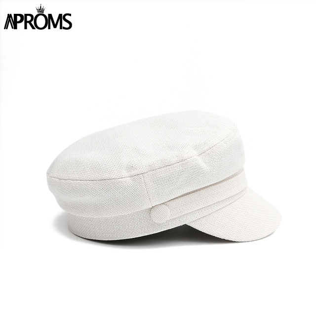 Aproms Linen Knitted Hat...