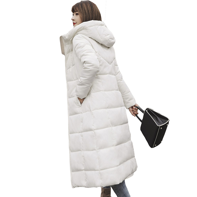 Plus Size 4XL 5XL 6XL Winter Jackets Women Down Parkas Thick Down Jacket Women Hooded Coats Long Warm Casual Snow Outwear PP179