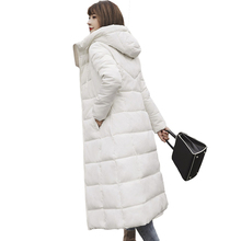 Plus Size 4XL 5XL 6XL Winter Jackets Women Down Parkas Thick