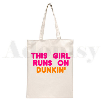 Ice Coffee Splatter Charli DAmelio Ulzzang Print Reusable Shopping Women Canvas Tote Bags Eco Shopper Shoulder Bags 20