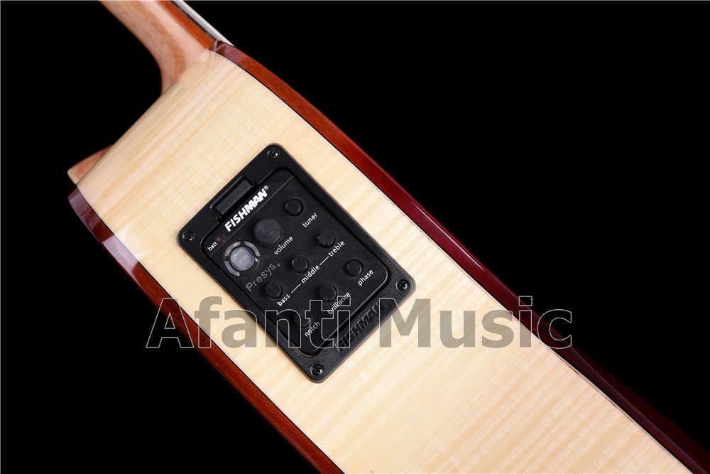 Afanti müzik 39 inç sağlam ladin üst klasik gitar (ACL-1560)