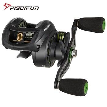Piscifun Phantom Carbon Fiber Ultralight 162g Baitcasting Reel Dual Brake 7.7kg Max Drag 7.0:1 Freshwater Fishing - discount item  39% OFF Fishing